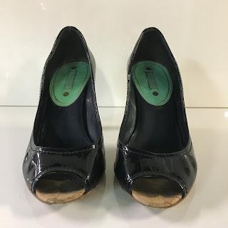 Céline Peep-Toe Pumps