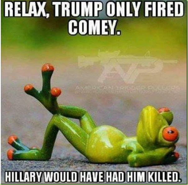 trump comey hillary
