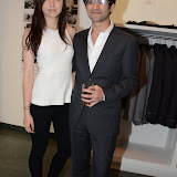 WWW.ENTSIMAGES.COM -   Natalie Hanks and Sunit Dattani       at       No Cigar Magazine - issue launch party at agnés b, 35-36 Floral Street, London, July 4th 2013                                            Photo Mobis Photos/OIC 0203 174 1069