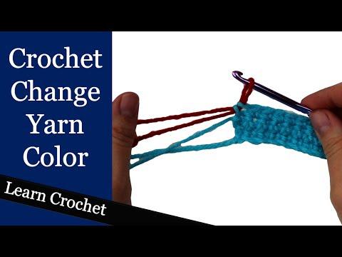 How to Change Color @ Crochet Treasures
