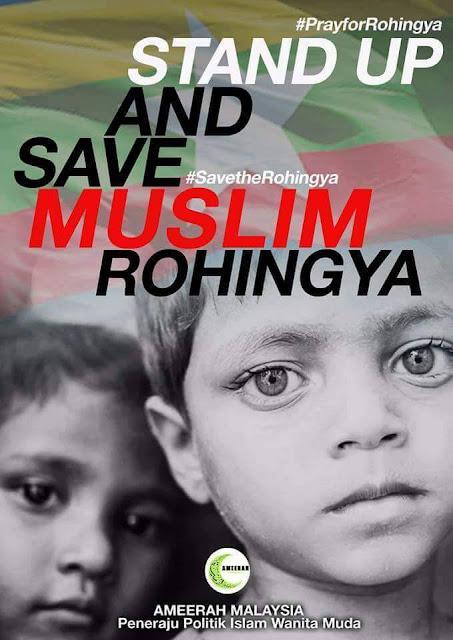 SEKAT SEGERA KEKEJAMAN MYANMAR TERHADAP MINORITI MUSLIM ROHINGYA