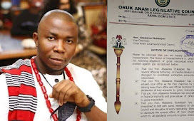 """Oruk Anam Legislative Council Says """"NO"""" to House of Assembly, Serves Reinstated Vice Chair another impeachment notice"""