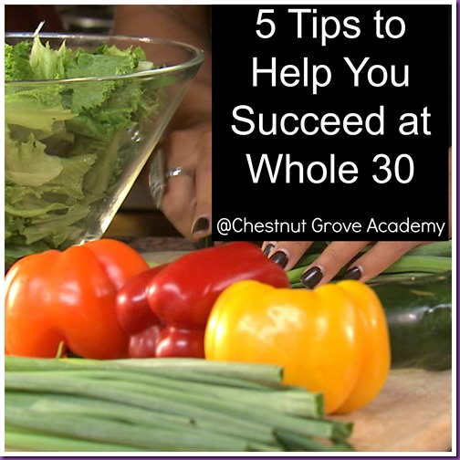 Whole 30 Tips