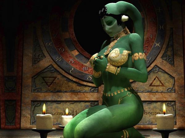 Green Fantasy Girl, Undines