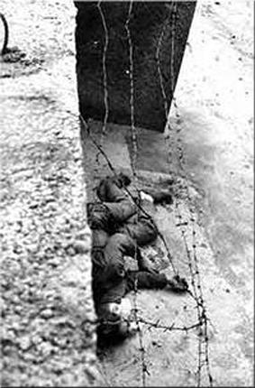 Peter Fechter, desangrado en 1962
