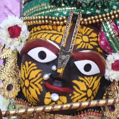Radha Govind Devji Deity Darshan 17 Dec 2015 (1)
