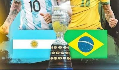 مشاهدة نهائي كوبا أمريكا: الأرجنتين - البرازيل على القنوات التالية - Brazil vs argentina