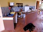 Vista Cucina della Guadalupe Surfhouse