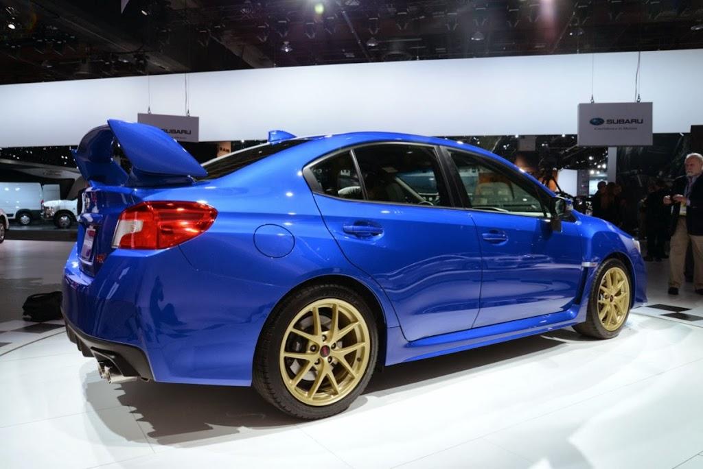 2015 Subaru WRX STI NAIAS 8