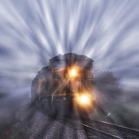 ----------The Train---------- by Neal Hatcher - Transportation Trains ( , land, device, transportation )