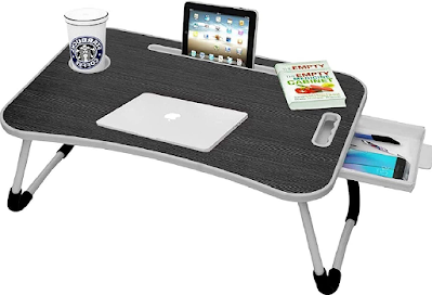 Multipurpose Foldable Laptop Table with Cup Holder