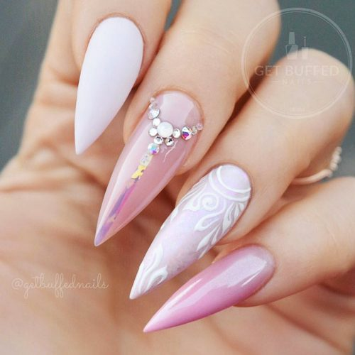 Cute Acrylic Nails For Long Nail For 2018 6
