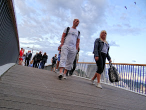 Photo: Photowalkers on the home straight.