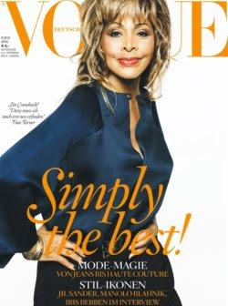 Tina Tuner Vogue