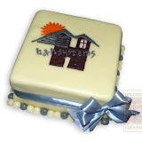 2. kép: Céges torták - H&H System logós torta