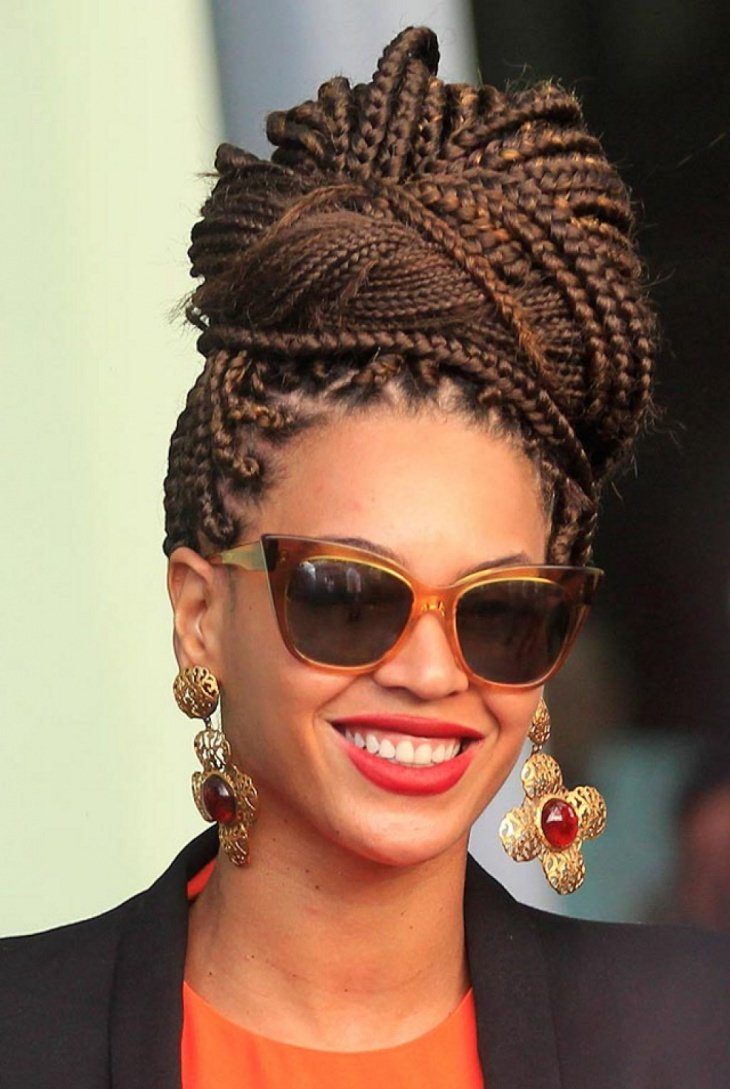 Box Braid Updo Hairstyle Ideas For 2017 Style You 7