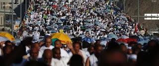 La Mecque: Plus de 1.800.000 pélerins pour la fête du sacrifice