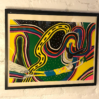 'Yellow Road' Signed Lithograph #2