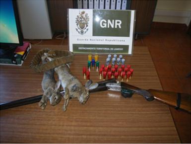 GNR faz detenção por caça em Lamego