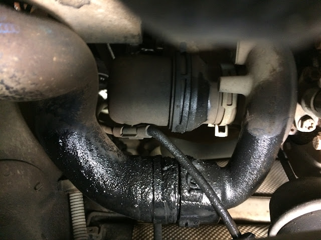 Blocked intercooler issues - leading to turbo early death? - TDIClub