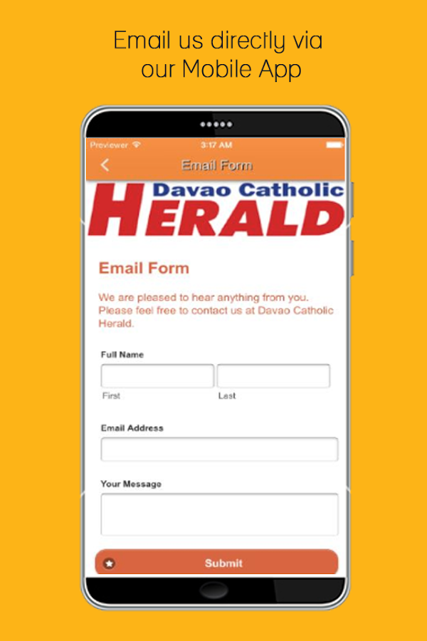 Davao Catholic Herald(iHerald)- screenshot