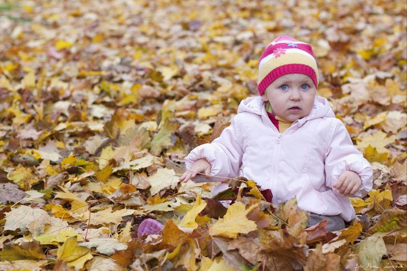sesja jesienna z dziecmi Portrety dzieci