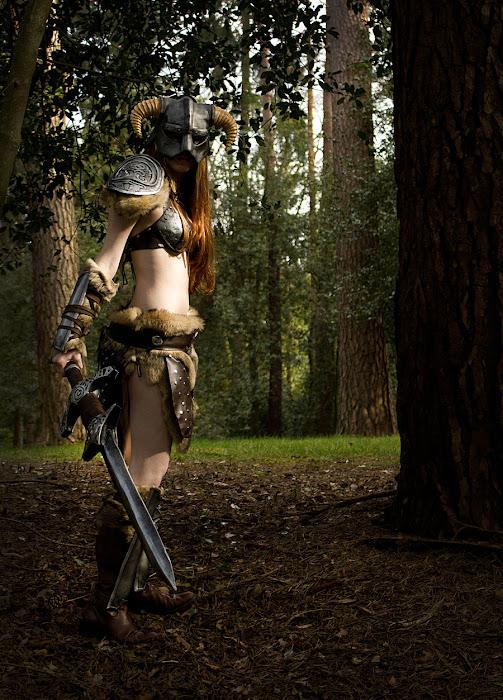 Laura Jansen và bộ ảnh cosplay Skyrim cực chất - Ảnh 2