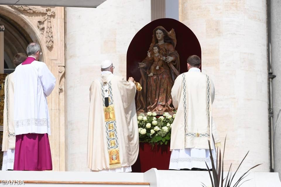 Watykan, 5 czerwca 2016 - 13315790_1221823077829294_7681018409656295391_n.jpg