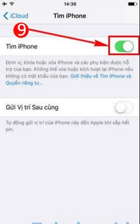 Mách bạn cách kích hoạt tính năng Định vị trên điện thoại iPhone, iPad + Hình 7