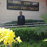 Principal Dr. Peter Wilson Prabhakar at UGC, New Delhi