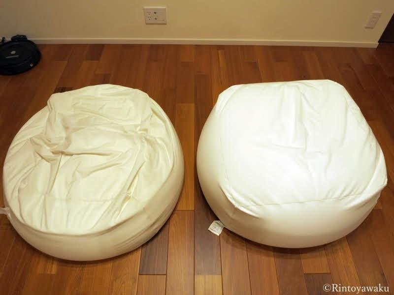 無印良品-からだにフィットするソファの比較写真-2