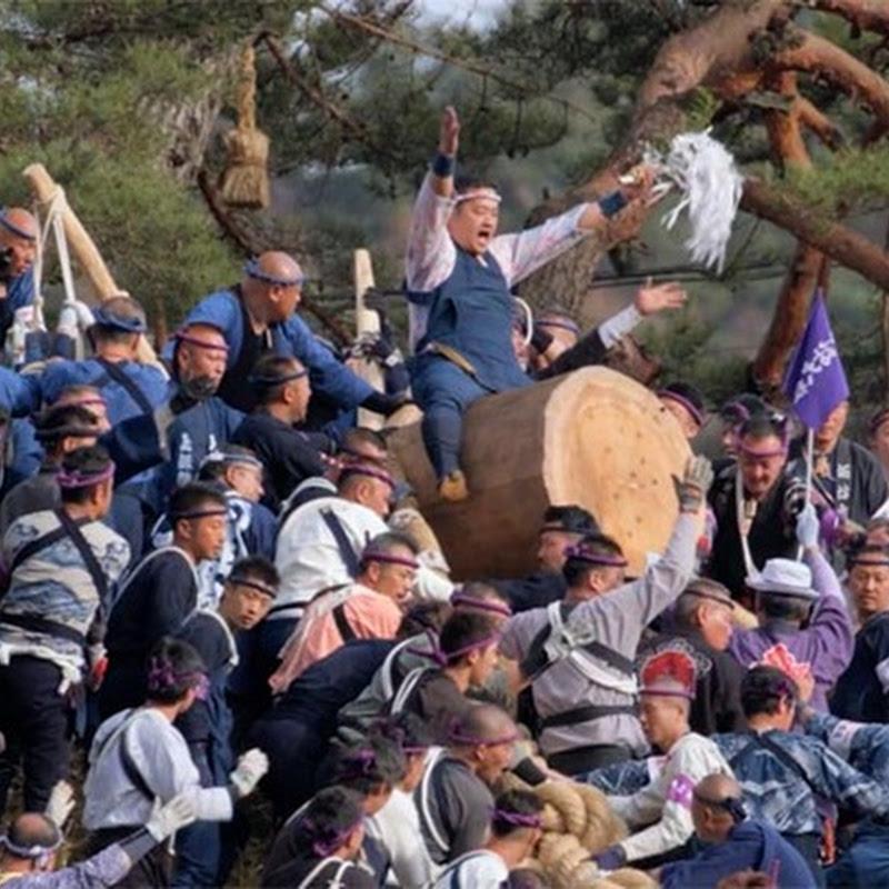 Onbashira Matsuri - Um festival japonês tão perigoso quanto espectacular