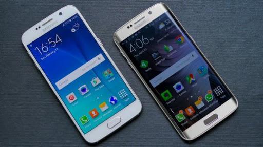 Bila Kena Sinar Lampu, Ada Cahaya Akik di Galaxy S6 Edge
