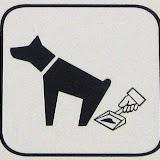 Таблички и знаки, призывающие убирать за собаками