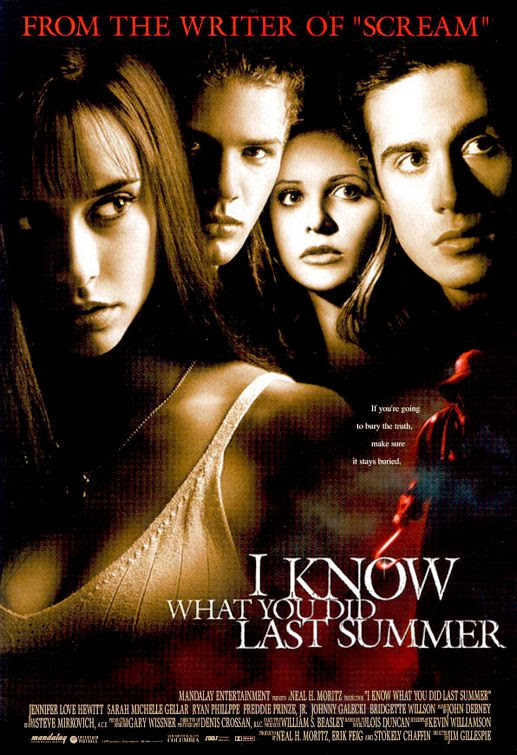 Poster Of I Know What You Did Last Summer (1997) Full Movie Hindi Dubbed Free Download Watch Online At Alldownloads4u.Com