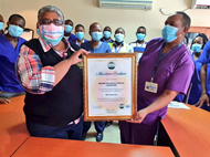 Malindi sub-county hospital get certified and can test covid-19