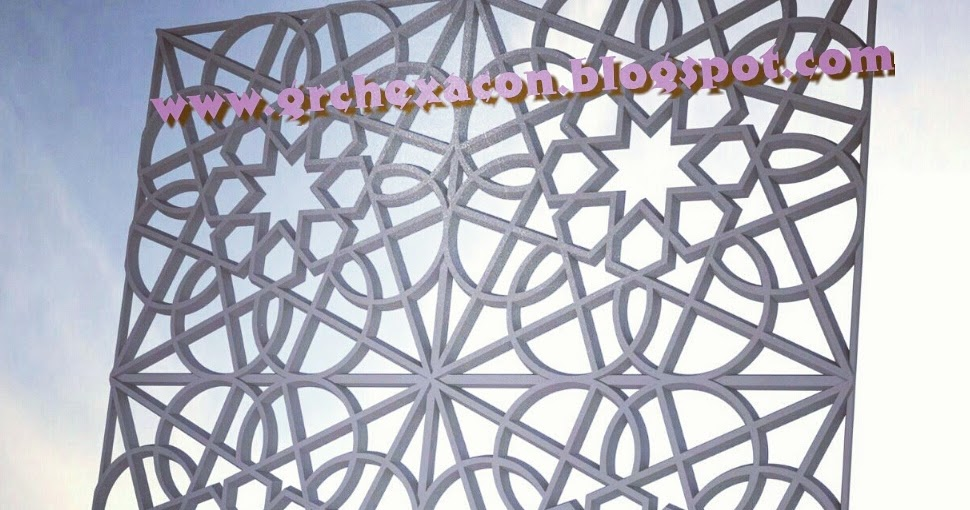 GRC HEXACON INDONESIA ornamen GRC dan roster beton: Krawangan GRC ...
