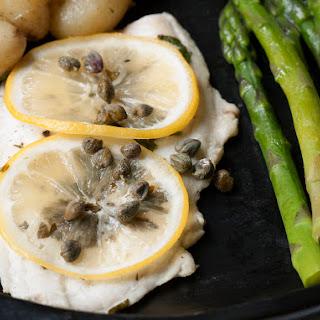 Lemon Sole en Papillote with Jersey Royals