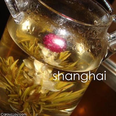 CarouLLou.com Carou LLou in Shanghai China tea +-