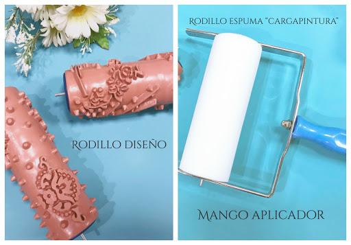 Rodillos Decorativos Fleur La Cómoda Encantada