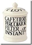 Emma Bridgewater Coffee Storage Jar