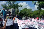 Demo Aliansi Pemerhati Pembangunan Maluku Tenggara Menuai Tuntutan