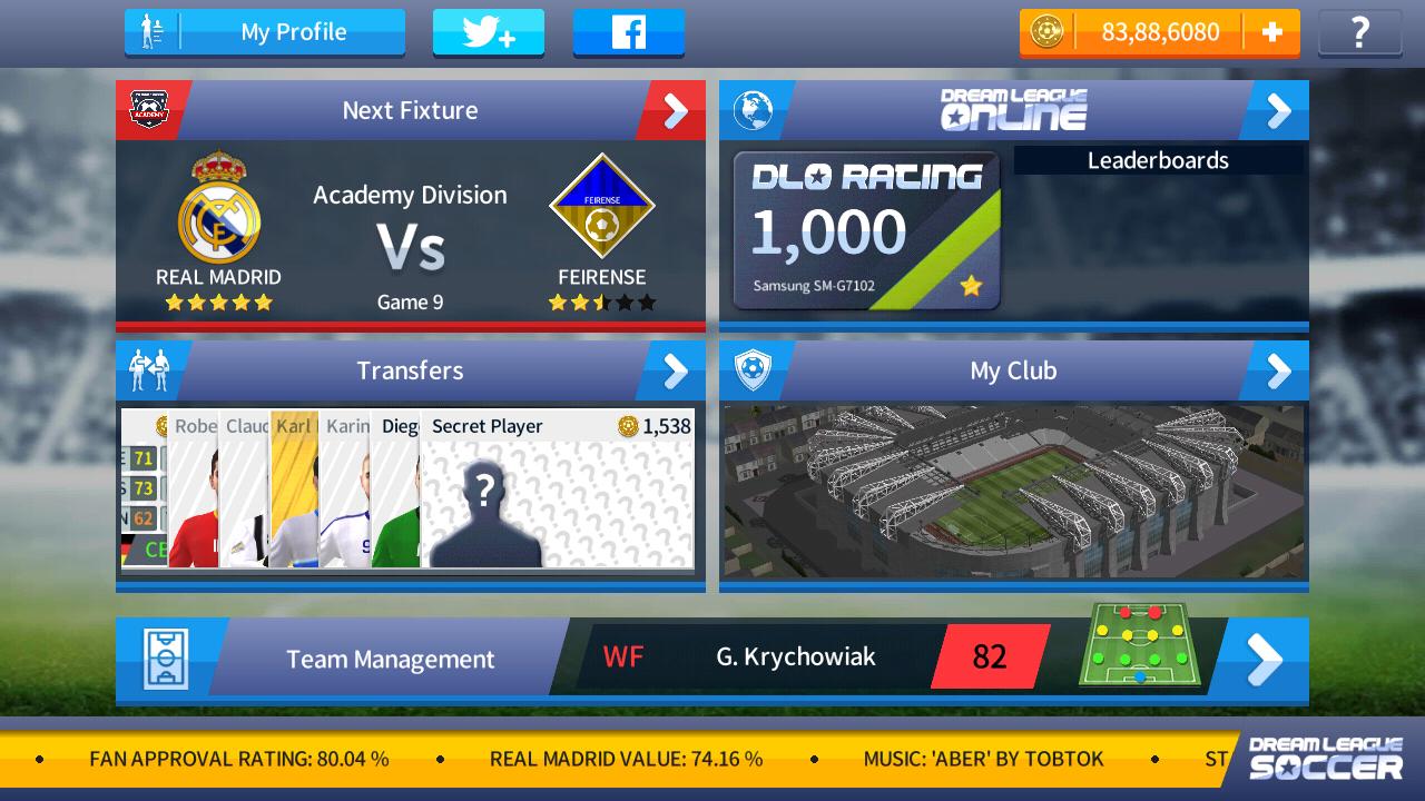 Dream League Soccer 2017 Mod Apk