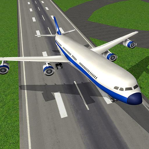 Plane Flying Game – Airplane Landing & Flight Sim