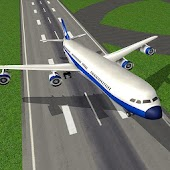 Air plane take off and landing Game