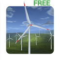 Wind Turbines 3D Free icon