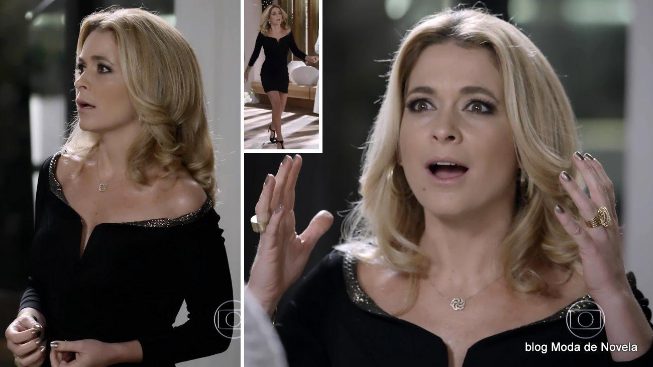 moda da novela Geração Brasil, look da Pamela dia 20 de outubro