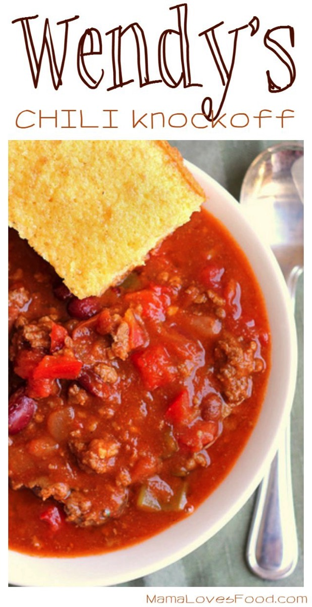 Wendy s Chili Recipe