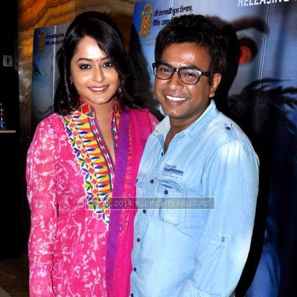 Rimjhim Gupta and Rudranil Ghosh during the premiere and after party of the film Maya, in Kolkata.