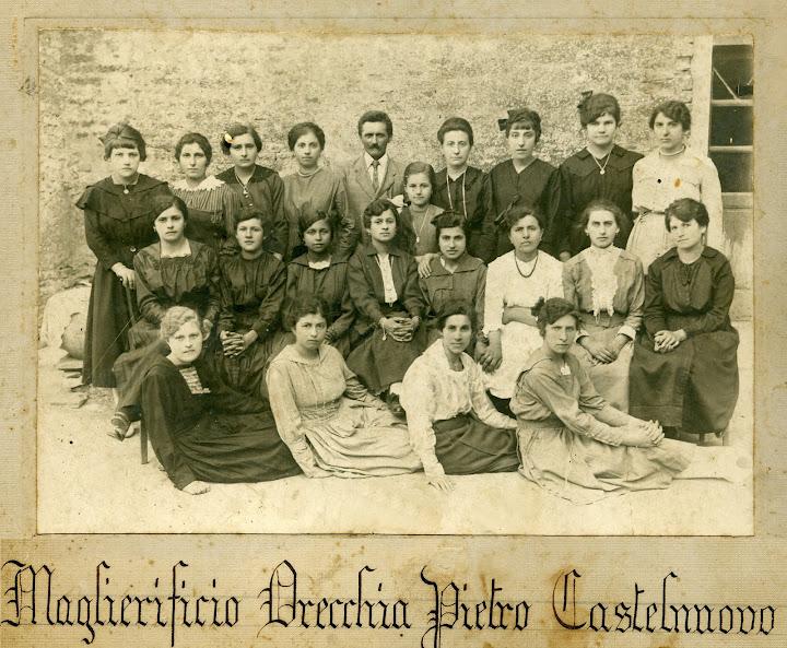 maglierificio in colombaia 1916